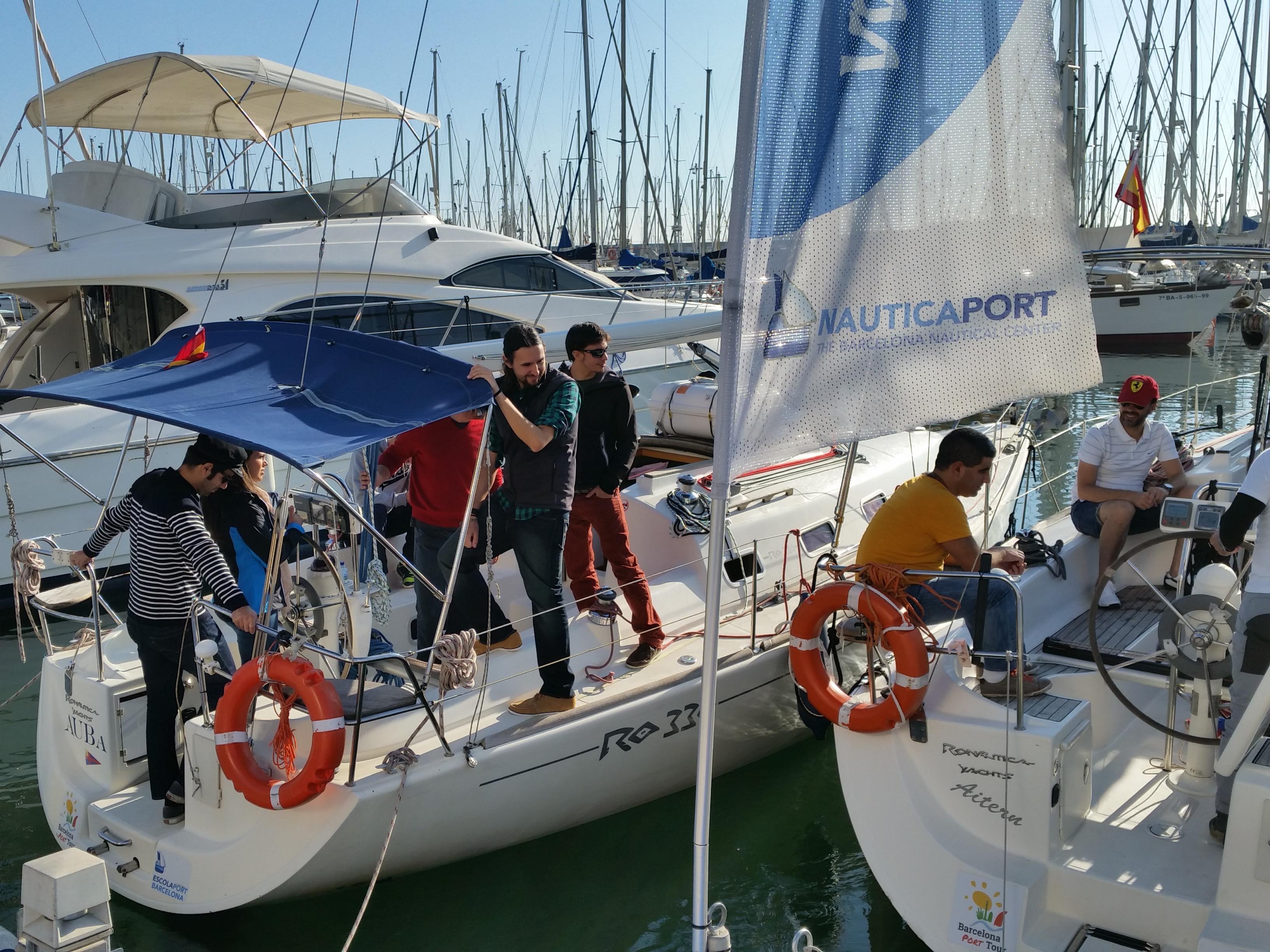 Barcos de prácticas de Escola Port Barcelona