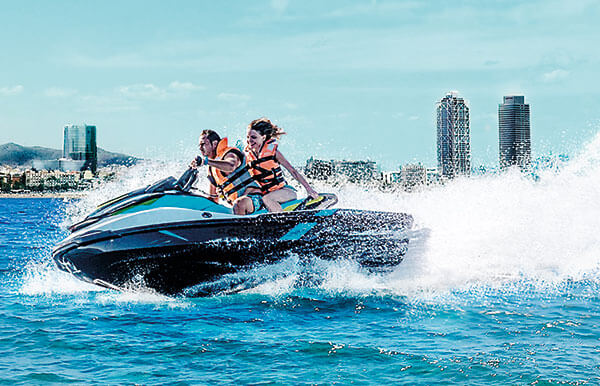 Carnet moto de agua (Jet Ski)