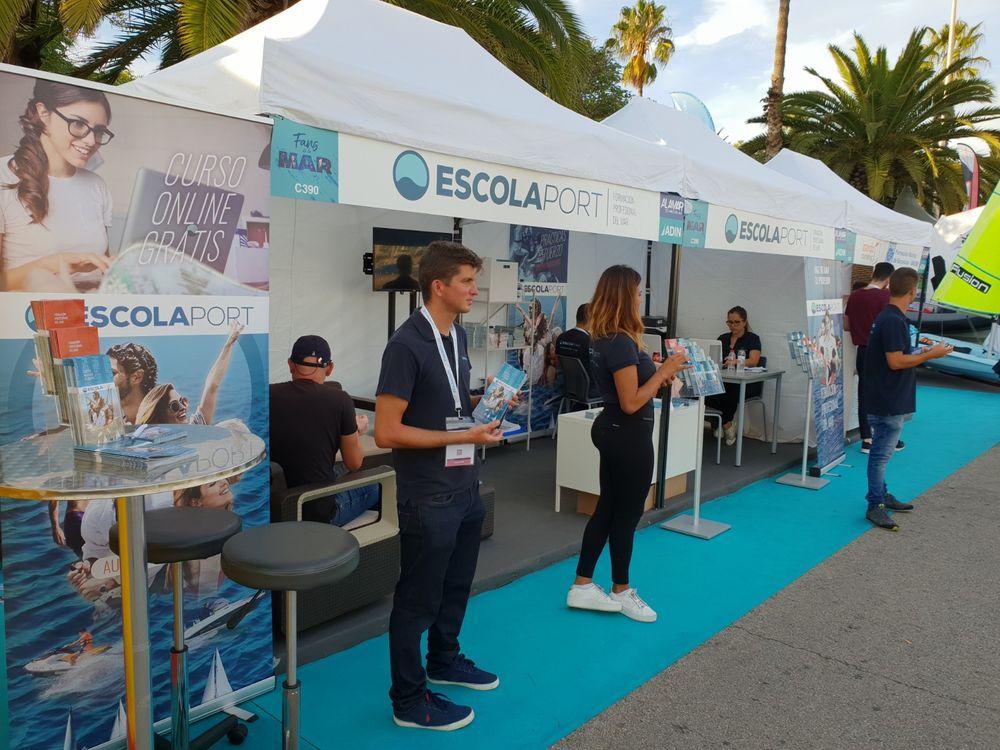 Escola Port at Barcelona Boat Show 2018