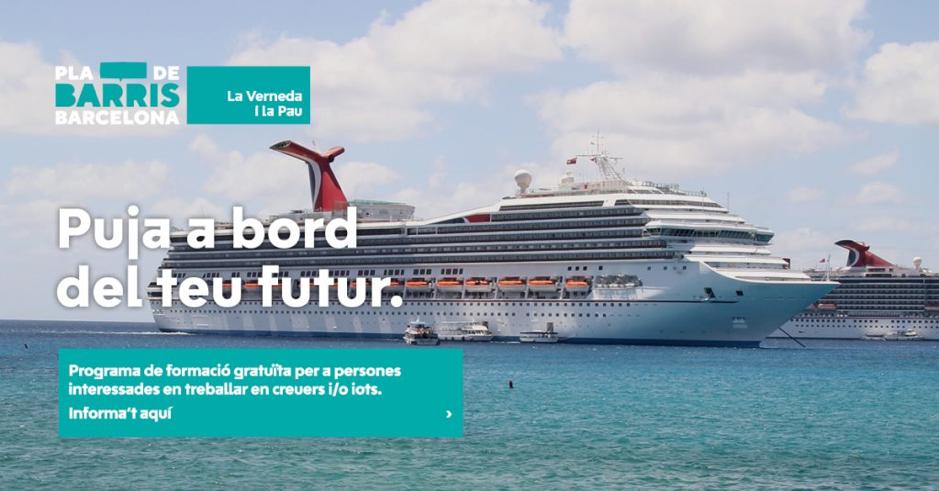 """Éxito del proyecto """"Treballa a la Mar"""" con Barcelona Activa"""