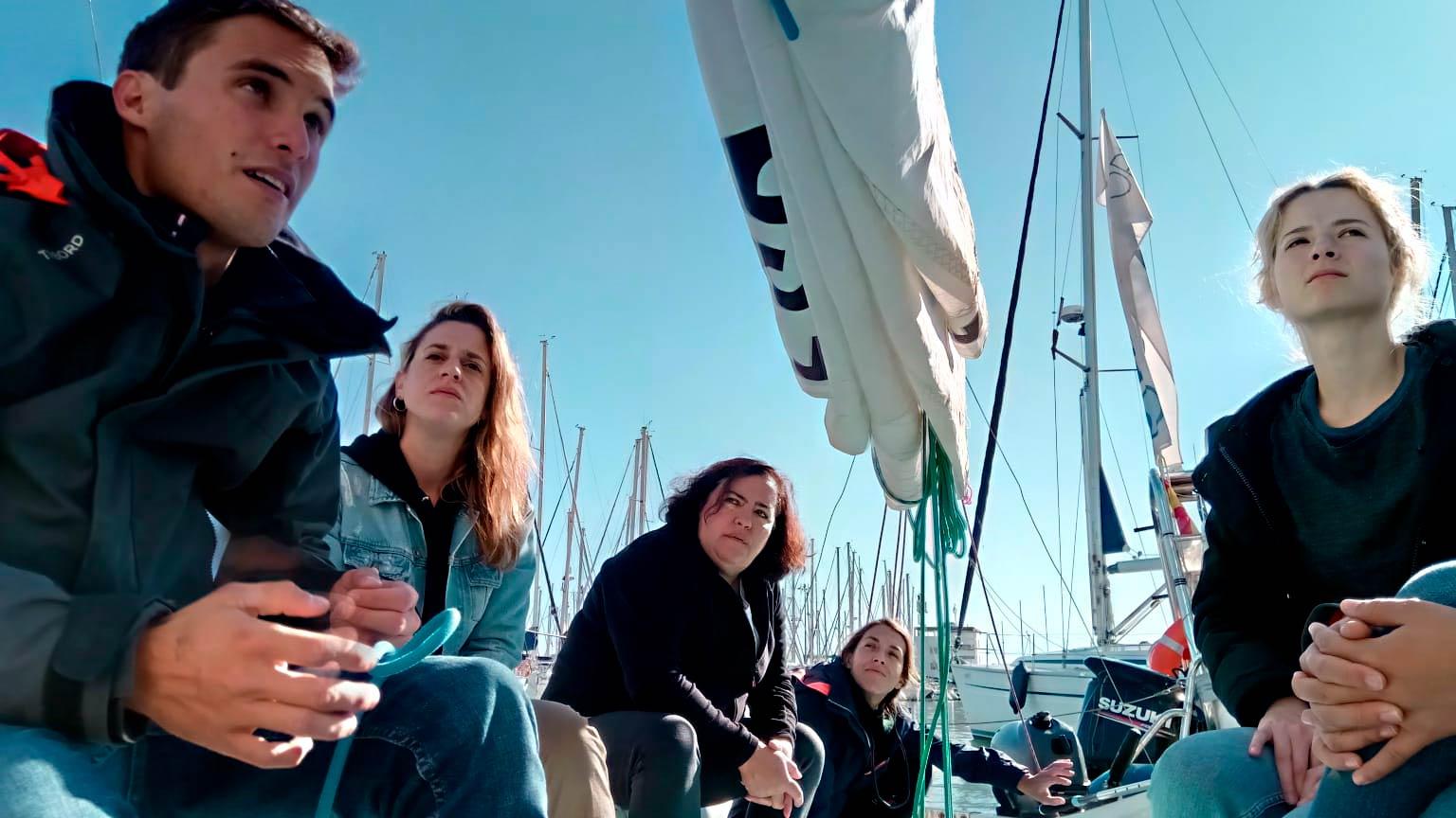 Opinión del curso de navegación a vela básico (por Lili)